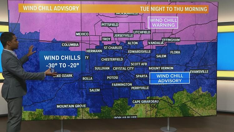 Tuesday Weather Map.Tuesday Weather Forecast 730am Ksdk Com