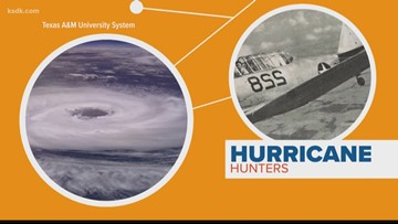 Connect the dots: The origin of hurricane hunters