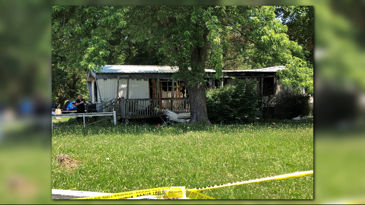 The fire killed siblings, 5-year-old Ethan, 2-year-old Maeanna and 1-year-old Benjamin Hunt. It also killed their cousins, 1-year-old Andre and 6-month-old Patience Malleck.