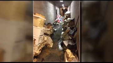 Police files destroyed after basement of HQ floods