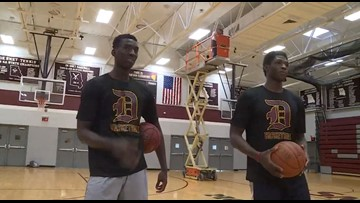 8,000 miles from home, De Smet students standing out and fitting in