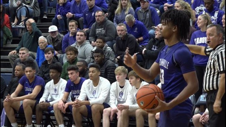 The Collinsville Kahoks are wreaking havoc on the basketball court