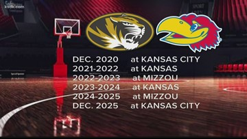 Mizzou-Kansas Border War is back