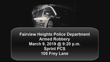 RAW: Armed men rob Sprint store in Fairview Heights