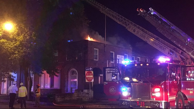 """St. Louis Fire Chief Dennis Jenkerson deemed the fire """"very suspicious,"""" adding that multiple fires were set throughout the building."""