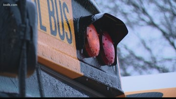 Winter weather forces cancellations of schools, flights