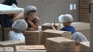 'Kids Against Hunger' help feed special needs kids in Haiti