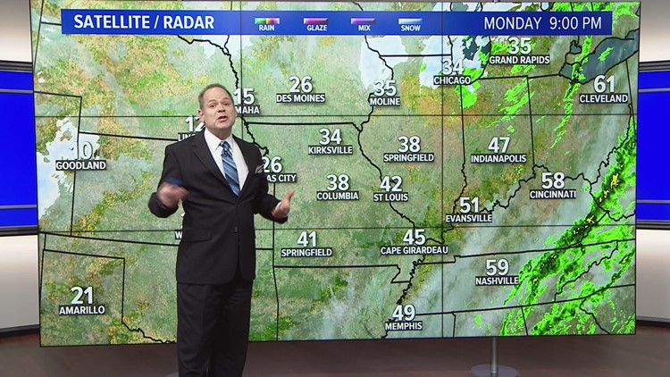 Ksdk Weather Map.Monday Dec 31 Pm Weather Ksdk Com