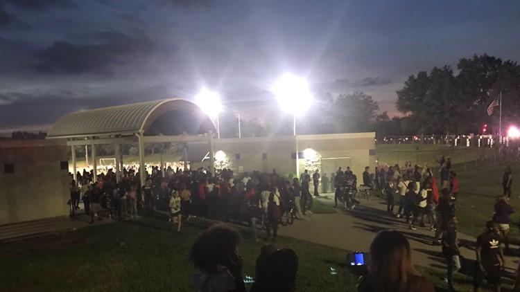 Disturbance at Parkway North High School