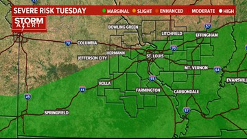 Ksdk Weather Map.Interactive Radar Scattered Storms Tonight Ksdk Com