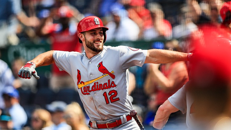 The Cardinals moved eight games above .500, equaling their season high set on June 11, and are a National League-best 12-4 since July 27.
