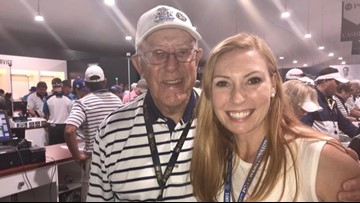 89-year-old man dedicates his time volunteering at PGA Championship