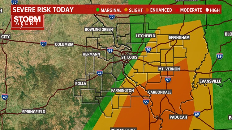 Ksdk Weather Map.Interactive Radar Isolated Storms Monday Night Ksdk Com