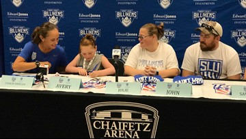 10-year-old 'officially' becomes youngest member of SLU Billikens women's soccer team
