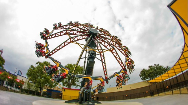 new spinning tilting ride coming to six flags st louis