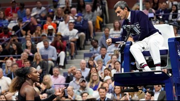US Open umpire defended for simple reason: He followed rules in penalizing Serena Williams