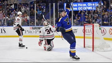 Tarasenko a game-time decision due to illness