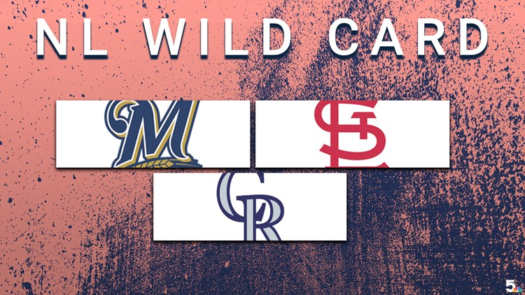 Because the chase for two Wild Card spots will likely come down to the wire, 5 On Your Side has compiled a daily rundown of who is playing who, who won to who and who could whichever direction. The list will be compiled of teams in the mix for the Wild Card — as well as the always-important NL Central chase.