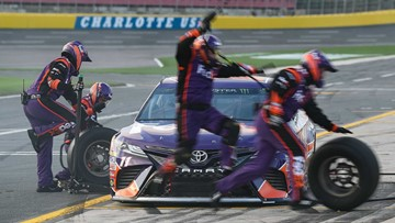 Former college football players taking their athletic talents to NASCAR pit crews