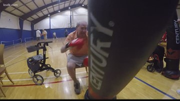 Seniors fighting Parkinson's with a one-two punch