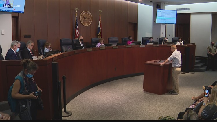 St. Louis County Council votes to terminate mask mandate