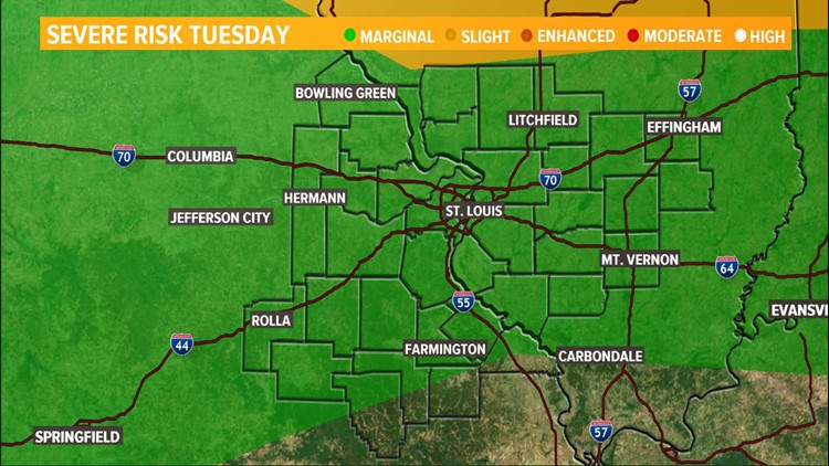 Ksdk Weather Map.Rain On Its Way Out Cooler Temperatures Making A Comeback Ksdk Com