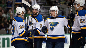 Where has this been? Blues dominate Sharks with shutout