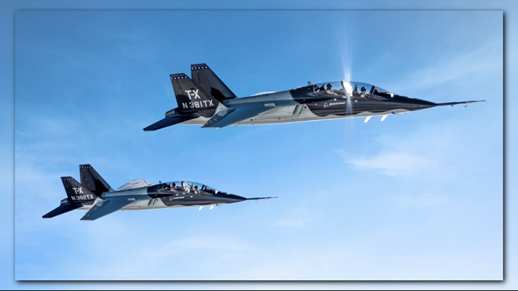 Boeing wins USAF TX jet trainer competition