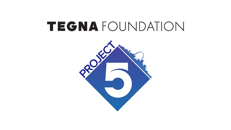 TEGNA Foundation and 5 On Your Side's Project 5 to award $15,000 to help three St. Louis-area nonprofit organizations