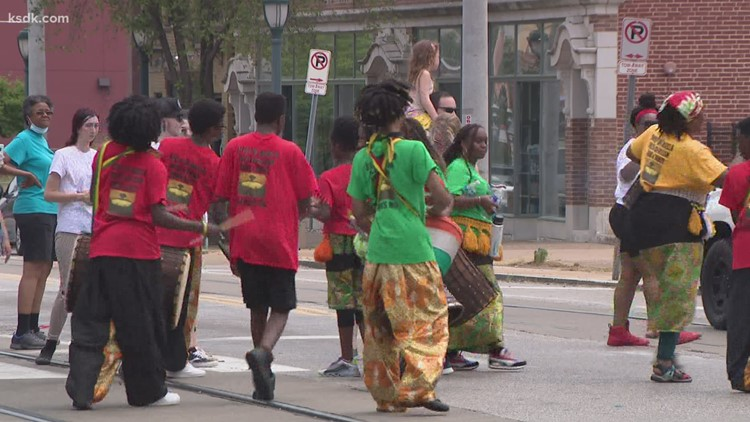 St. Louis joins the nation in historic celebration of Juneteenth