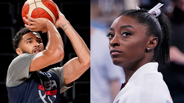 'Simone is a hero!': Jayson Tatum defends fellow Olympian Simone Biles