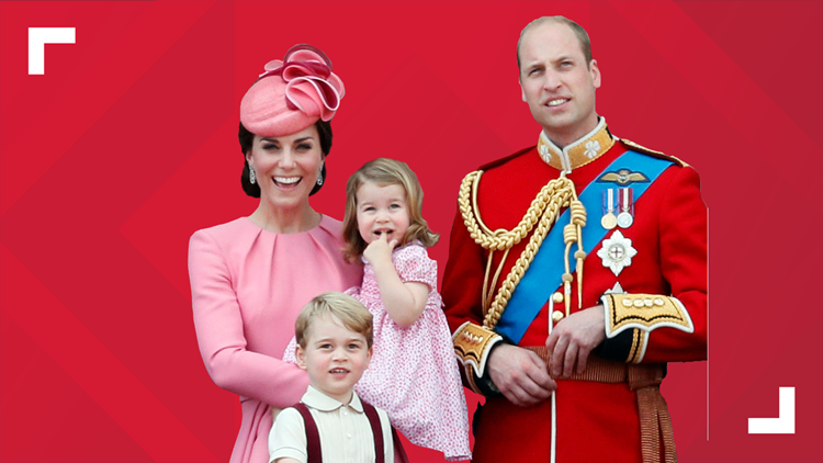 Prince William, Kate, Prince George and Princess Charlotte