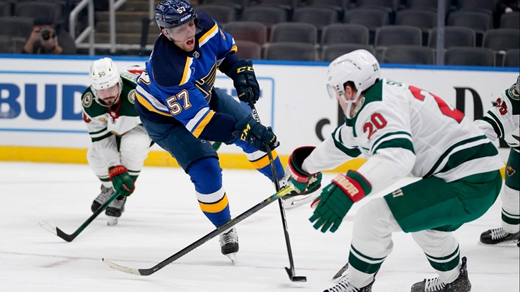 O'Reilly hat trick fuels Blues' 9-1 shellacking of Wild