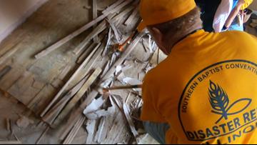 Volunteers arrive in Granite City for massive clean-up effort