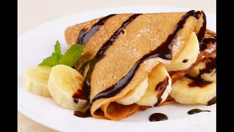 Recipe of the Day: Chocolate Milk Crepes