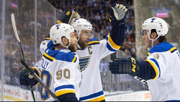 When Blues' D makes an impact on O, results are normally favorable