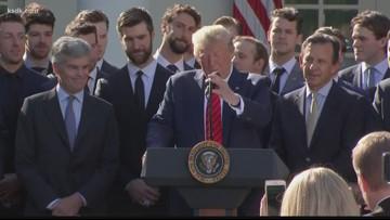 Blues visit White House