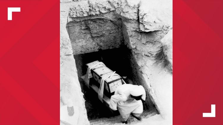 King Tut Treasures 1920s