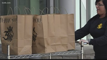 Goody bags for delivery drivers, restaurants donate meals to health care workers