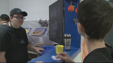 Coffee shop brews up opportunity for students with special needs