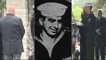 ICYMI: American hero killed at Pearl Harbor, laid to rest at Jefferson Barracks
