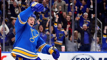 Tarasenko returns as Blues battle Oilers on Tuesday