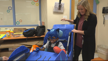 Elementary students come together to grant Halloween wish for classmate