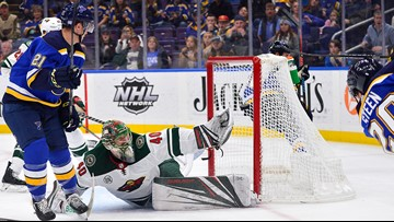Granlund scores in third to lift Wild over Blues 3-2