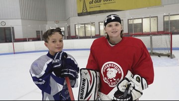 9-year-old hockey goalie wins Musial Award