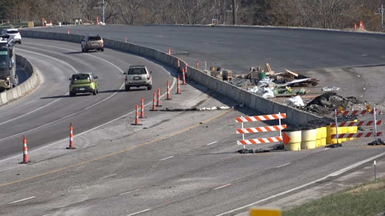 All lanes of Interstate 44 to reopen Thursday in Shrewsbury