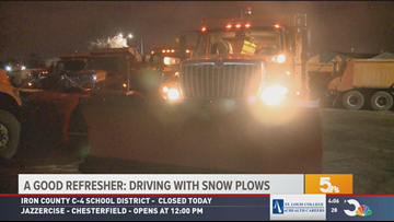 VIDEO | Be wary of MoDot plows, accidents involving them already reported