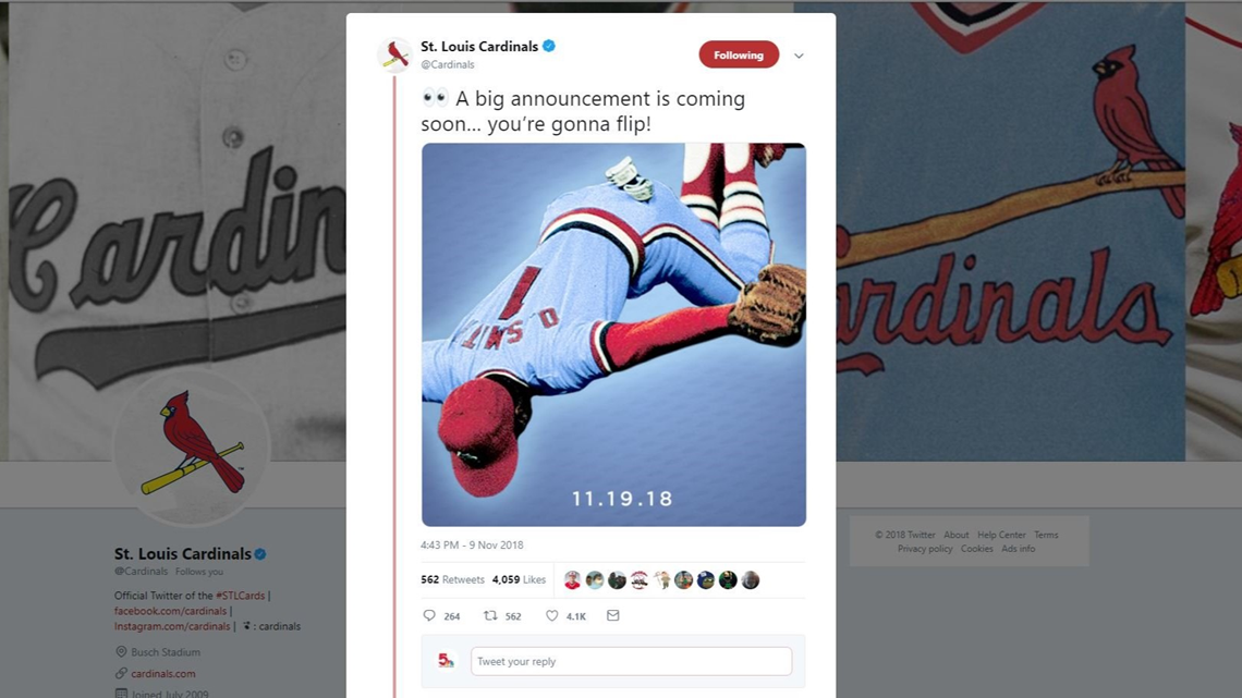 Would you like to see the Cardinals play in blue jerseys next season?