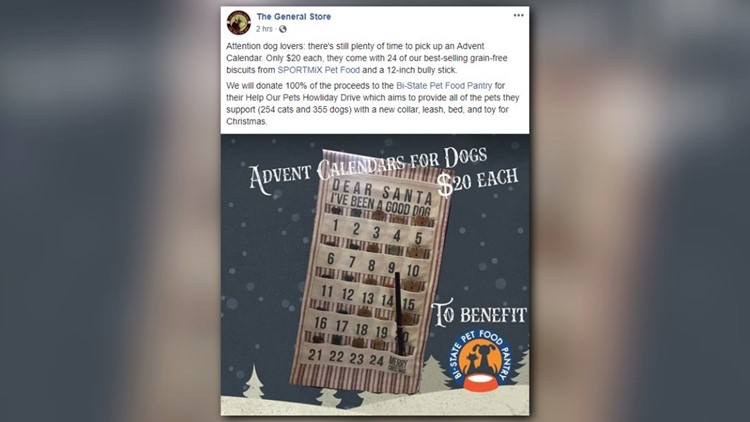 This pet store is selling Advent calendars for your dog