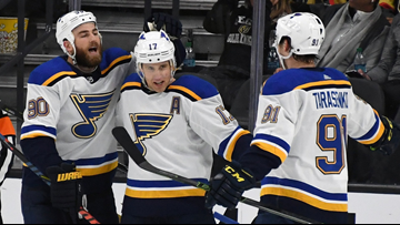 Blues to play second straight game without 4 key players